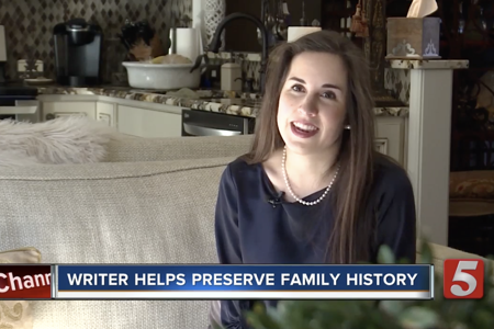 Local author's business Raconteur Story Writing Services preserves family memories